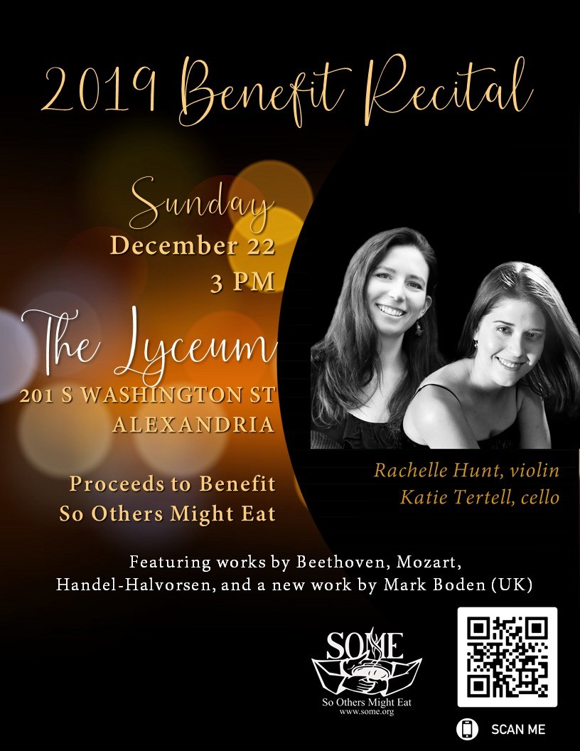 a benefit recital for SOME